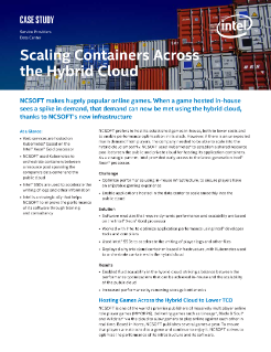 Scaling Containers Across the Hybrid Cloud