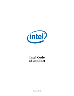 Intel Code of Conduct