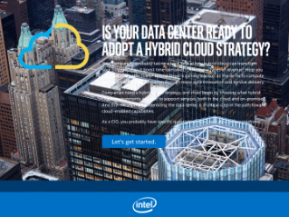 CIOs: Is Your Data Center Ready for Hybrid Cloud?