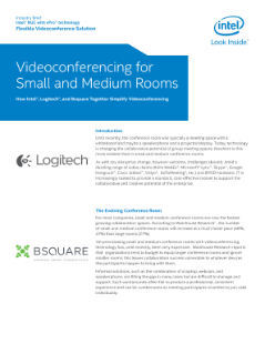 Logitech and Bsquare Videoconferencing for Small and Medium Rooms