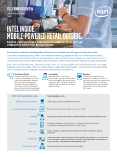 Mobile-Powered Retail Solutions Brief