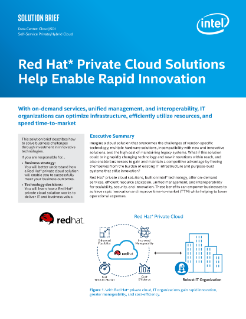 Red Hat* Private Cloud Solutions
